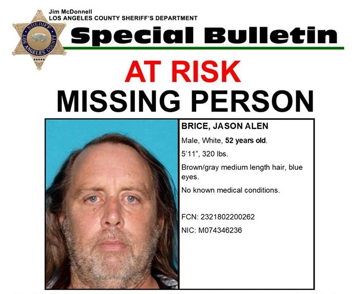 Jason Alen Brice Missing Person Flyer Crop  Missing Person Flyer