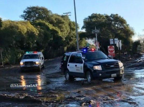 LASD Santa Barbara mudslide aid 1