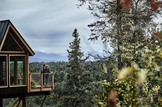 Mt. McKinley Princess Wilderness Lodge Treehouse Exterior