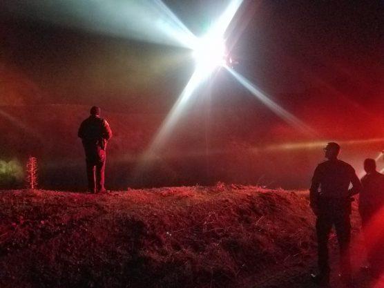 rescue on Little Tujunga Canyon Road