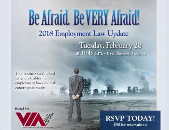 VIA 2018 employment law update luncheon