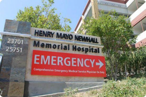 Henry Mayo Newhall Hospital - stabbing