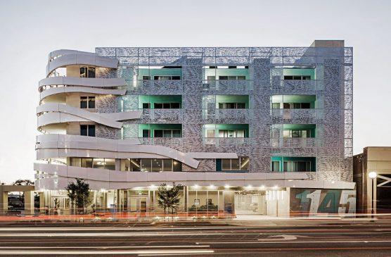 La Brea Affordable Housing, West Hollywood. Photo: Art Gray/WMC 3.0