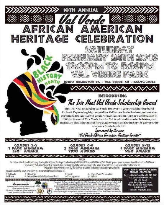 Val Verde African American Heritage Celebration