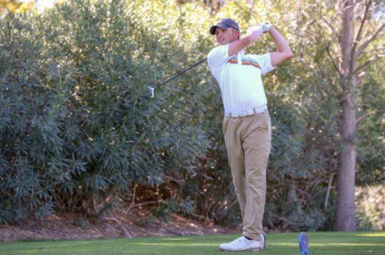 COC men's golfer Clayton Kucera