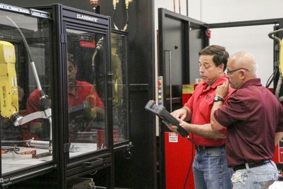 COB robotic welding