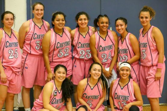 College of the Canyons women's basketball team, 02-14-18