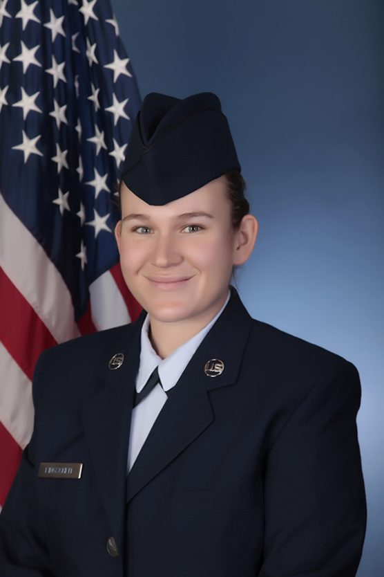 U.S. Air Force Airman Taylor M. Lingscheit