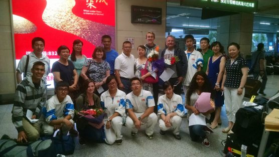 On July 7, 2015, the 9th exchange group from Saugus High School headed to GaoXin No. 1 High School for 5 weeks.