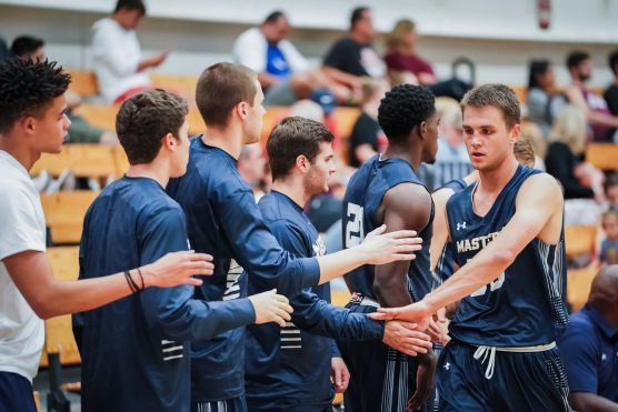 TMU men's basketball team - Travis Yenor