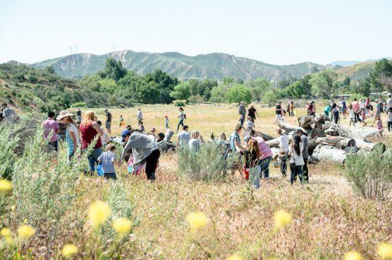 Gilchrist Farm egg hunt and Spring Fling 2018