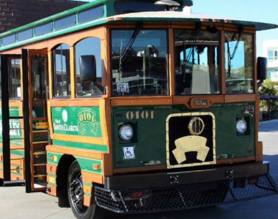 Old Town Newhall Express trolley