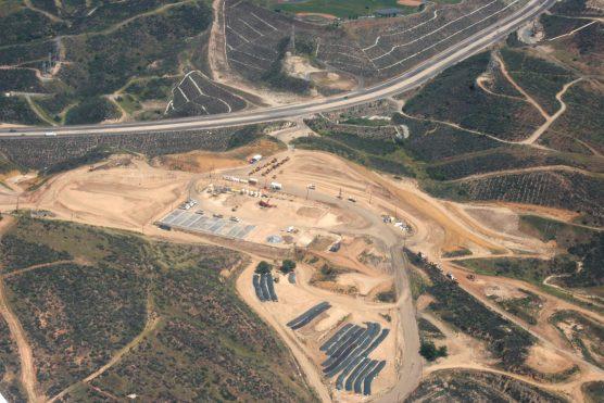 whittaker-bermite aerial view, 2008
