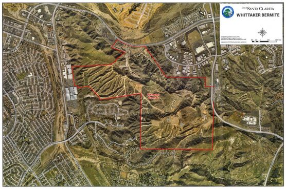 Whittaker-Bermite site map