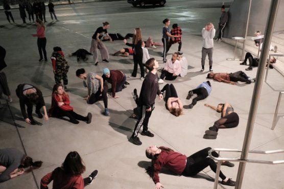 CalArts dancers - HUMAN | Image by Rafael Hernandez