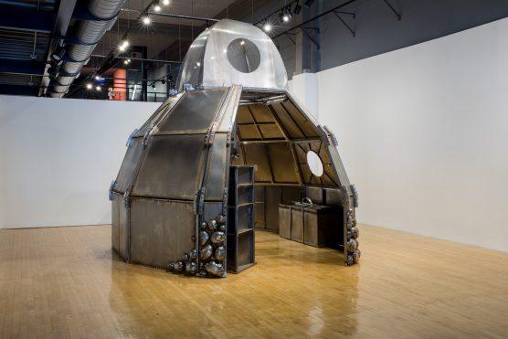 "One of Beatriz Cortez's pieces, ""Memory Insertion Capsule."" Photos by Nikolay Maslov, photos and text courtesy of UCR ARTSblock."