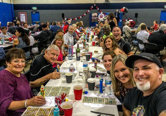 Bingo Night 2017 fundraiser for the Hart High Baseball Program