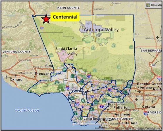 Centennial Map
