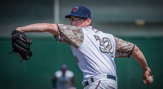 Lancaster JetHawks starting pitcher Brandon Gold. | Photo: Kevin Karzin.