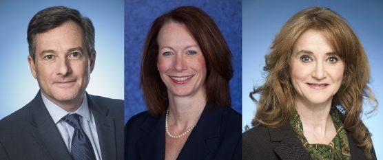 Anthony Kaufman, Kelly Clark and Deanna Austin