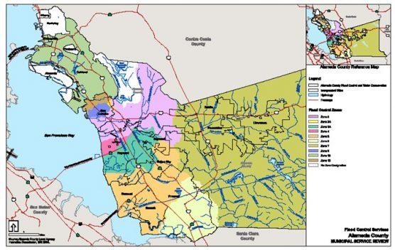 Zone 7 Water Agency map