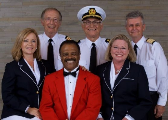 """Cast of """"The Love Boat"""" in 2018."""