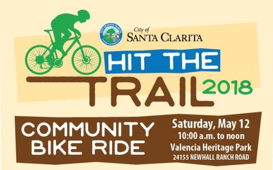hit the trail community bike ride