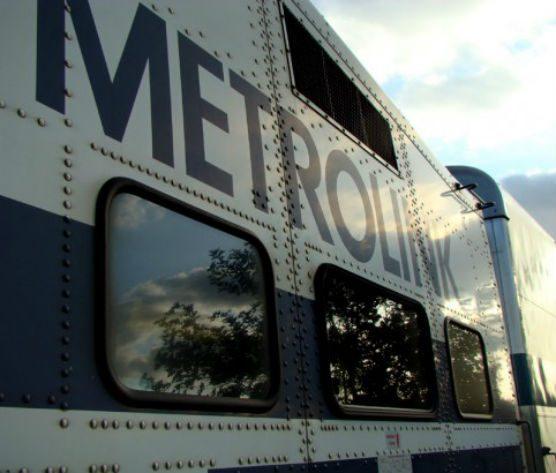 Metrolink train file photo