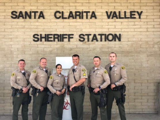 SCV Sheriff's Station's Summer Crime Enforcement Team for 2018.