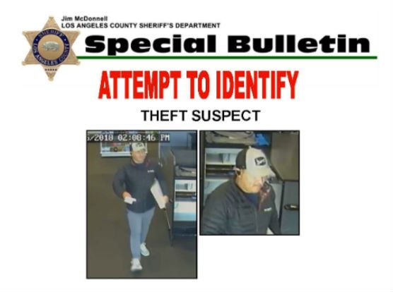 wallet theft suspect