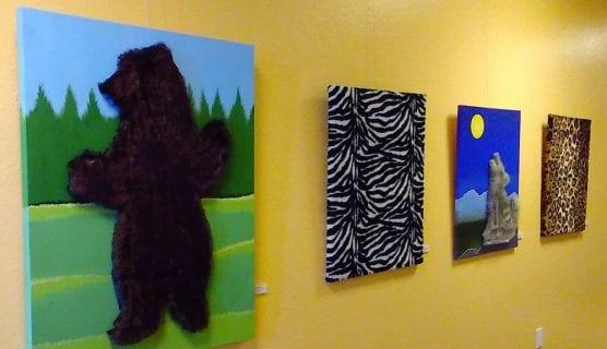 Pettable Paintings
