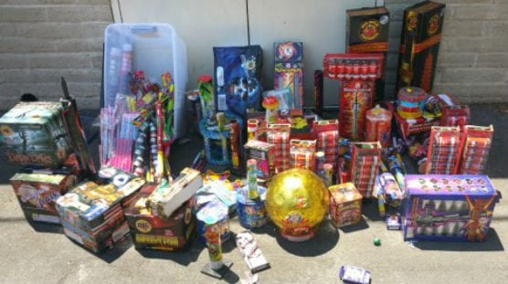 illegal unlawful fireworks