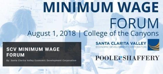 minimum wage forum
