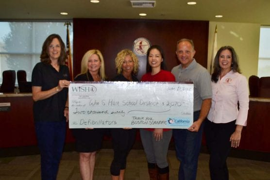 Boston Scientific was among the corporate donors to the WiSH Education Foundation in 2018.