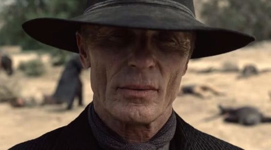 "CalArts alum Ed Harris as ""The Man in Black"" in HBO's ""Westworld."" Photo: HBO."
