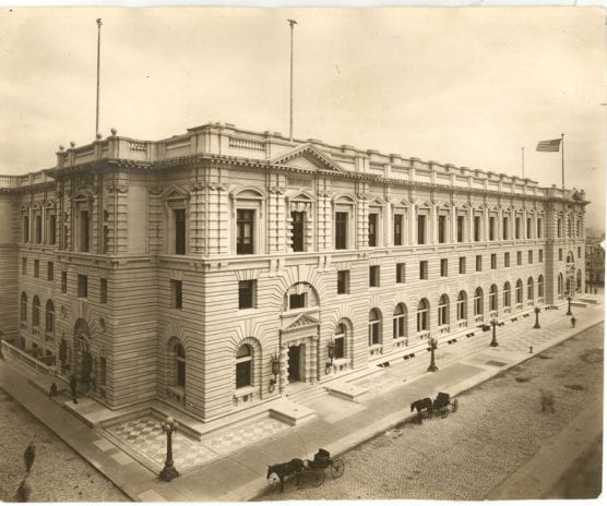 Ninth Circuit building in San Francisco,, 1905.