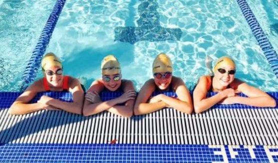 Paseo Aquatics swimmers