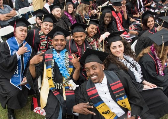 CSUN ranks among the top universities in the country that award undergraduate degrees to minority students, according to Diverse Issues in Higher Education. Photo by Lee Choo.