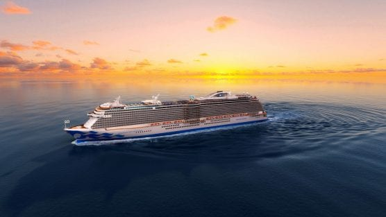 Princess Cruises' Enchanted Princess, to launch in 2020.
