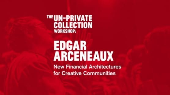 CalArts alum Edgar Arceneaux holds a workshop on financial models at The Broad. | Image: Courtesy of X-TRA and The Broad.
