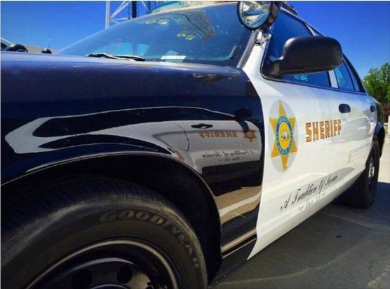 lasd patrol car - body found on bike path