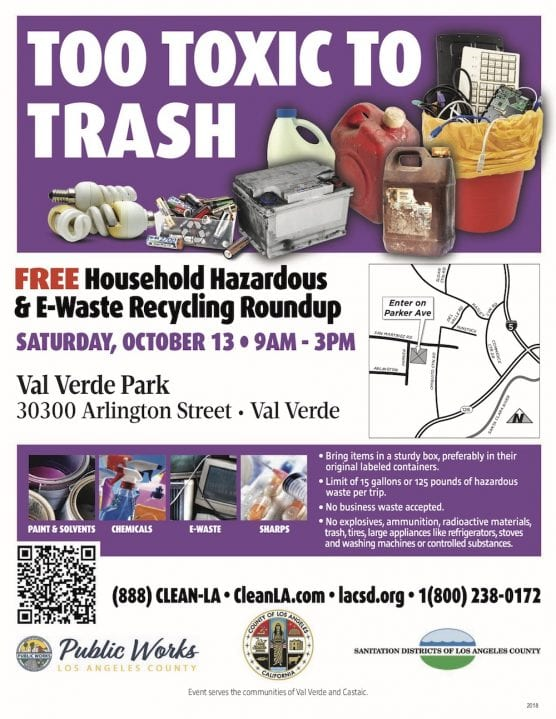 Household Hazardous, E-Waste Recycling Roundup