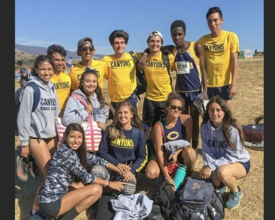 The College of the Canyons cross country program competed at the Western State Conference Preview on Friday, Sept. 28, 2018 at Cuesta College in San Luis Obispo. The men's team placed sixth while the women's team finish in the fourth place slot. | Photo: Lindie Kane/COC Sports Information.