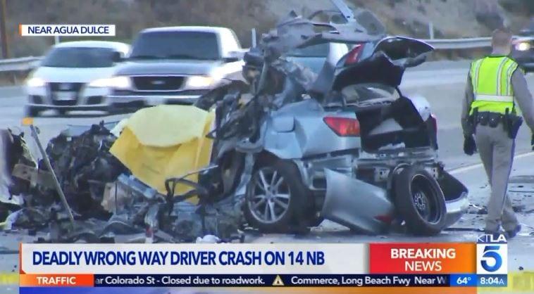SCVNews com | Wrong-Way Driver Dies, 2 Injured in Highway 14