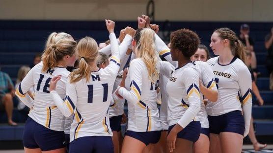 master's women's volleyball team -- menlo