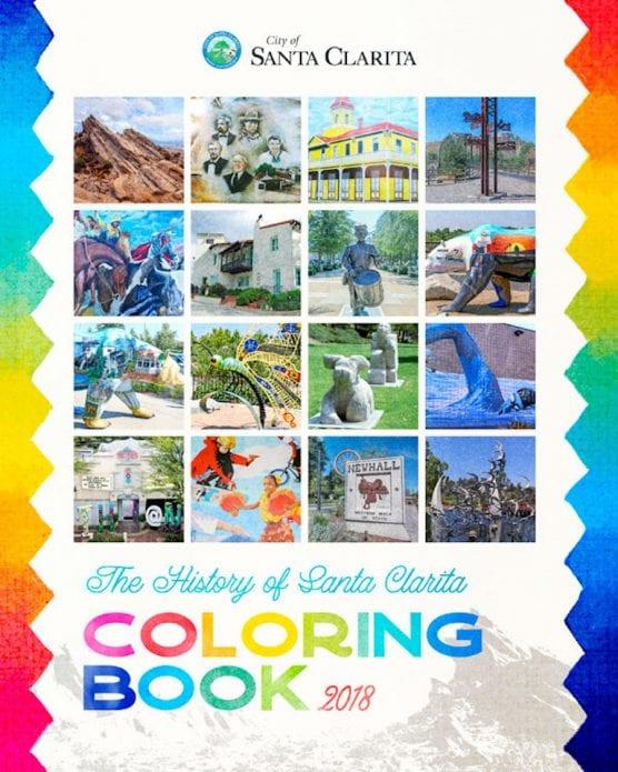 Santa Clarita Coloring Book