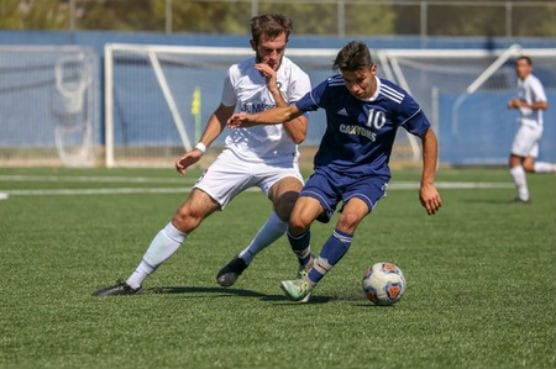 College of the Canyons men's soccer had a total of 11 players earn post-season all-conference awards including Western State Conference Player of the Year Cesar Dominguez.