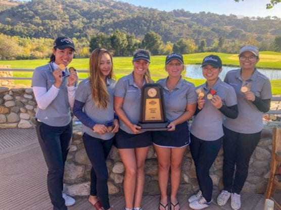 COC women's golf 2018 California Community College Athletic Association Southern California Regional Championship