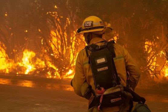 Photo: Douglas Morrison, Los Angeles County Fire Department.