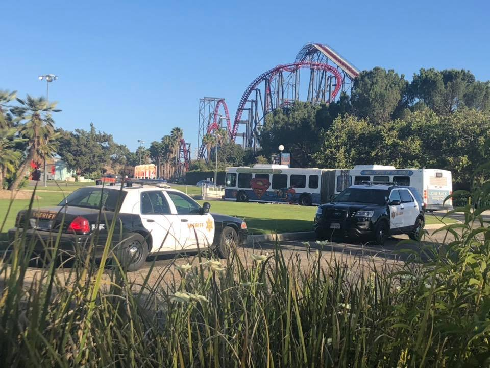 Six Flags Magic Mountain security make burglary arrests